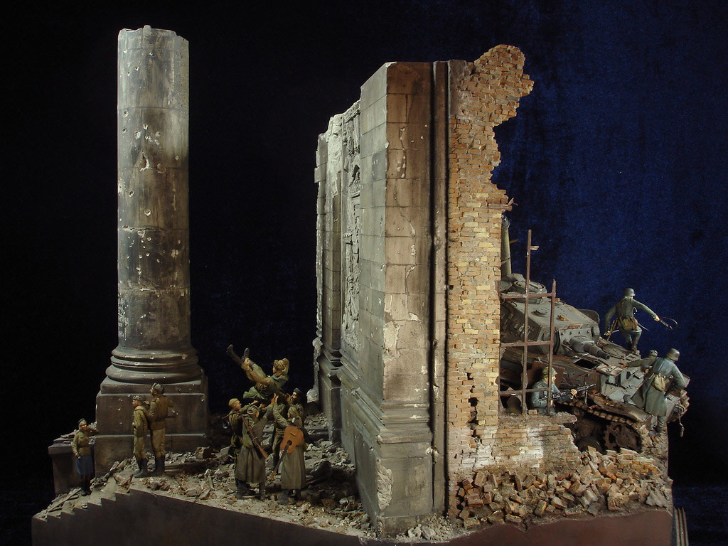 Stalingrad - Berlin: Double model of two moments of World War II - 51