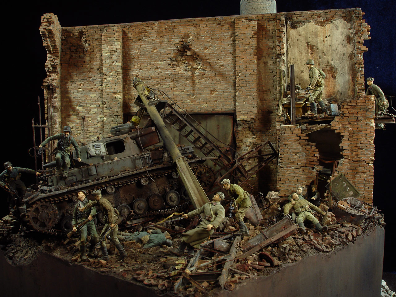 Stalingrad - Berlin: Double model of two moments of World War II - 06