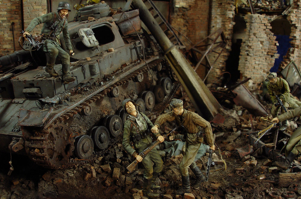 Stalingrad - Berlin: Double model of two moments of World War II - 07