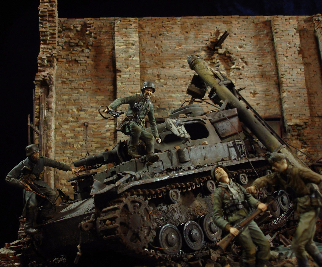 Stalingrad - Berlin: Double model of two moments of World War II - 08
