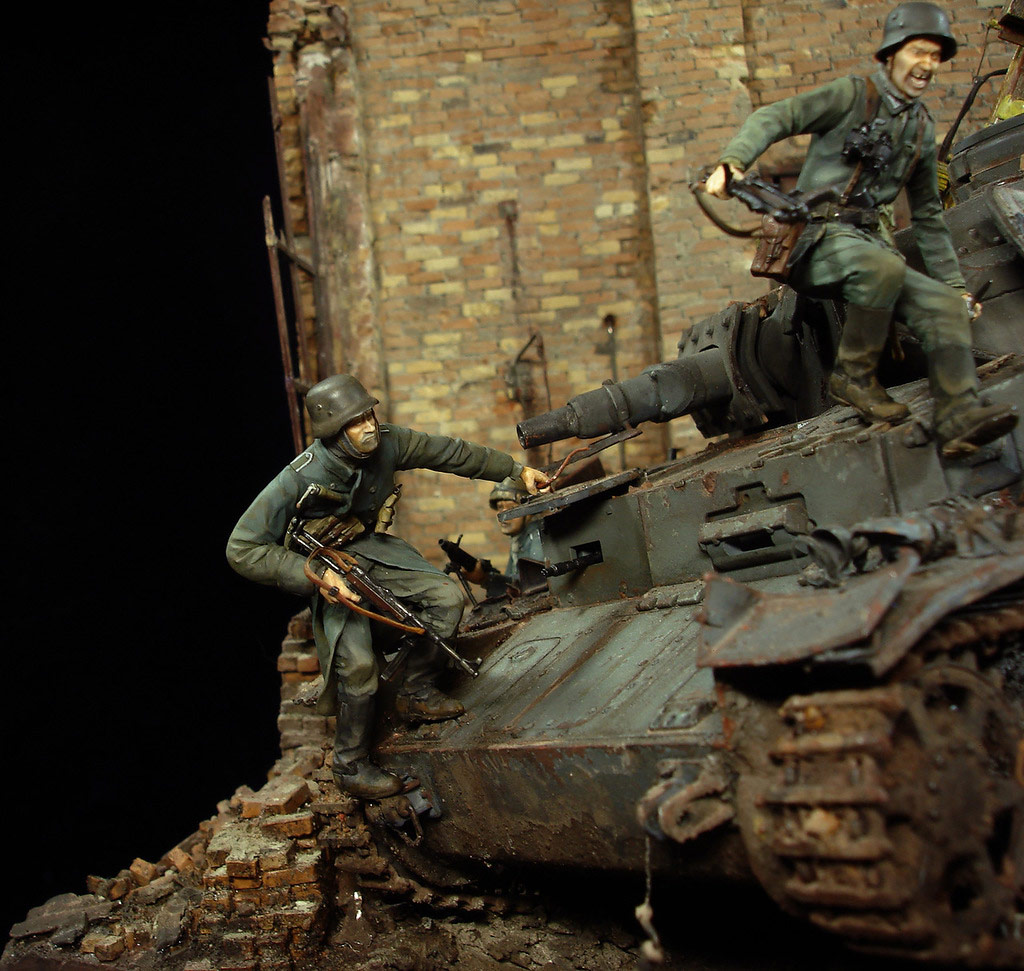 Stalingrad - Berlin: Double model of two moments of World War II - 09