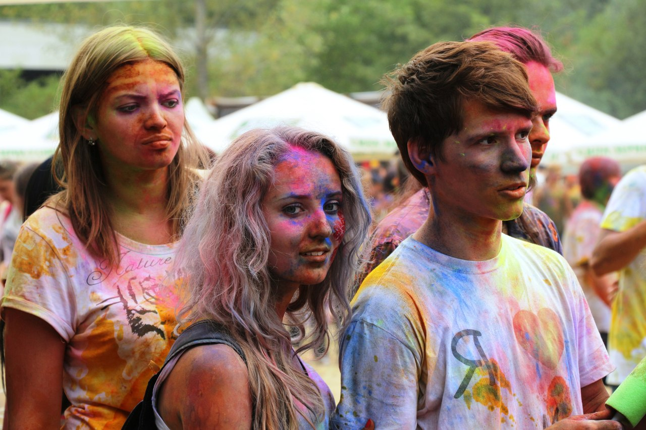 Bright summer: The festival of colours Holi in the capital of Ukraine - 20