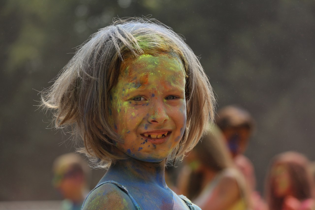 Bright summer: The festival of colours Holi in the capital of Ukraine - 31