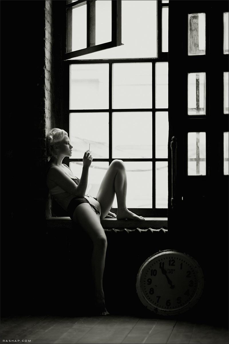 Charming black & white pictures by a photographer Ilya Rashap - 16