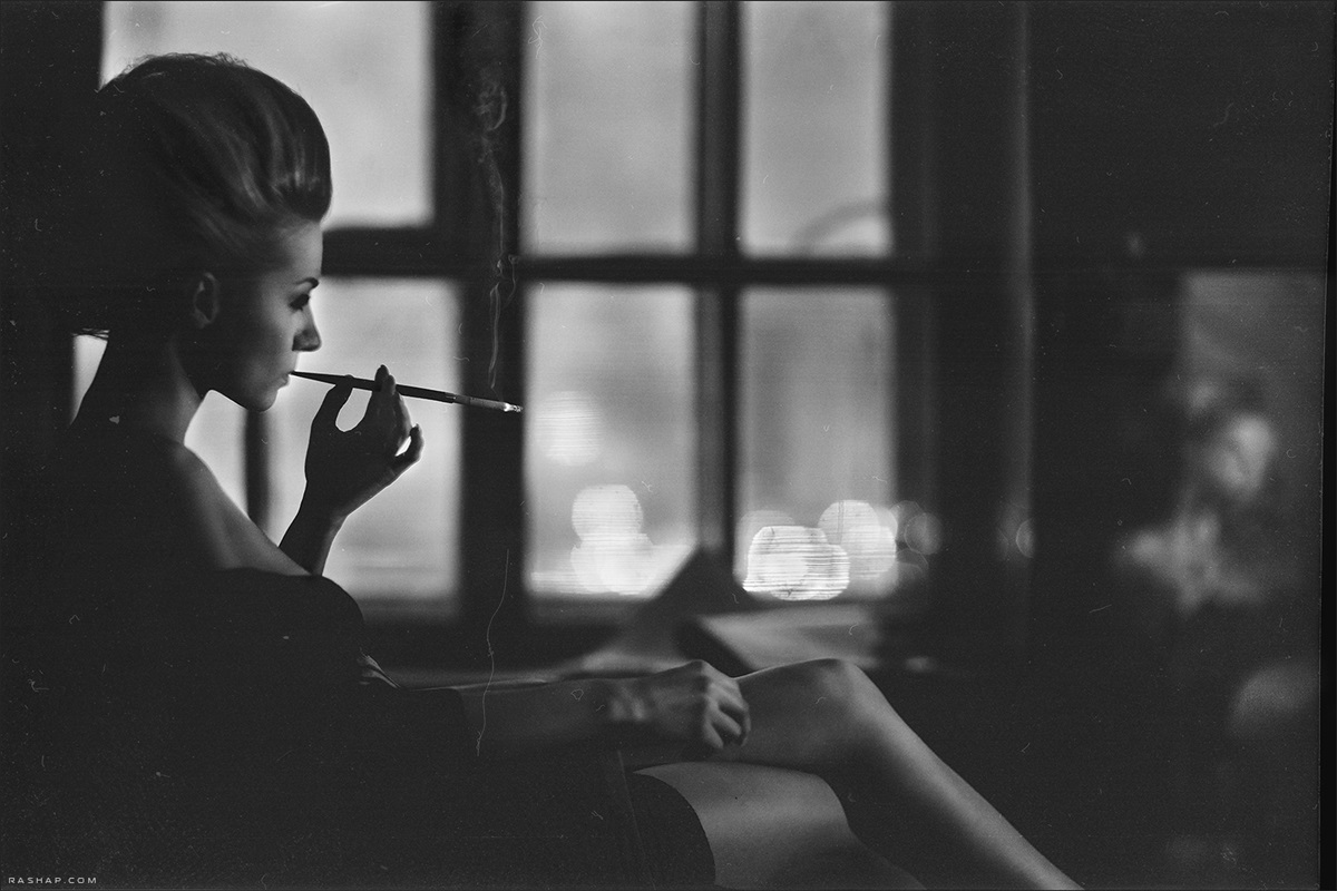 Charming black & white pictures by a photographer Ilya Rashap - 29