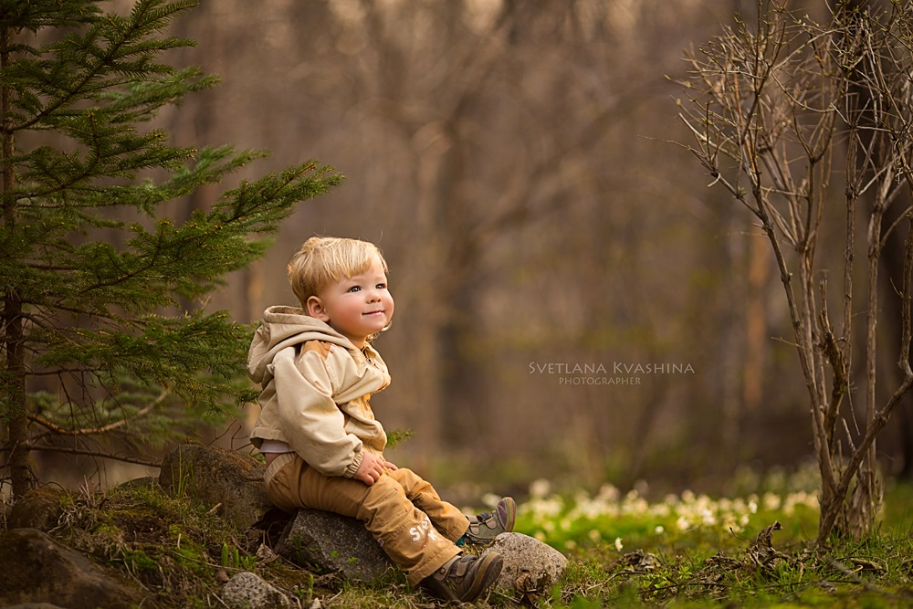 Children's happiness: Photos of lovely kids by Svetlana Kvashina - 14