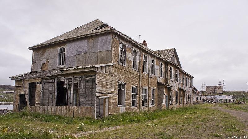 Dalniye Zelentsy: Half-forgotten rural locality on the Kola Peninsula - 10
