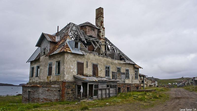 Dalniye Zelentsy: Half-forgotten rural locality on the Kola Peninsula - 13