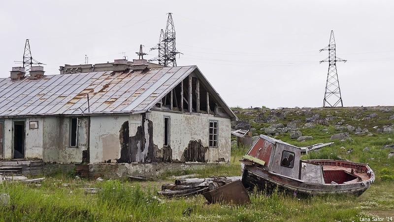 Dalniye Zelentsy: Half-forgotten rural locality on the Kola Peninsula - 14