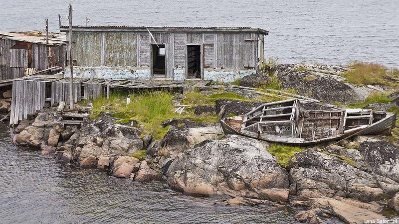 Dalniye Zelentsy: Half-forgotten rural locality on the Kola Peninsula - 16
