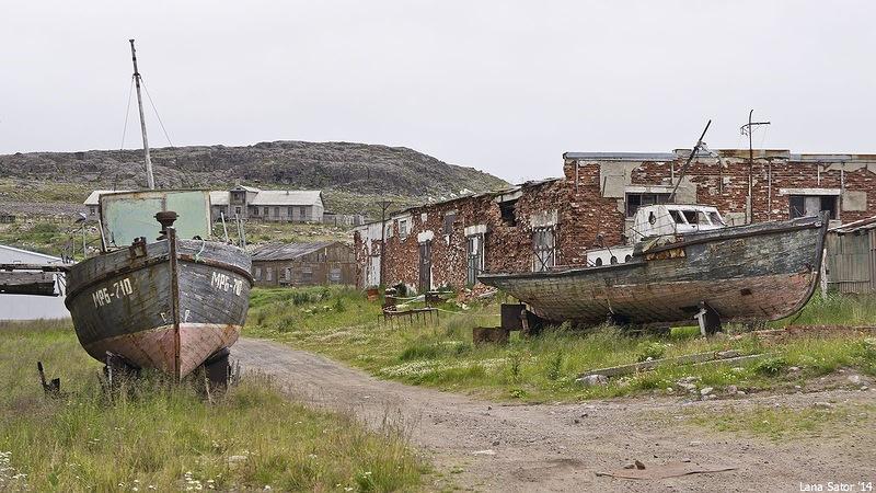 Dalniye Zelentsy: Half-forgotten rural locality on the Kola Peninsula - 21