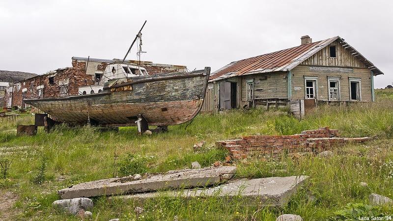 Dalniye Zelentsy: Half-forgotten rural locality on the Kola Peninsula - 24