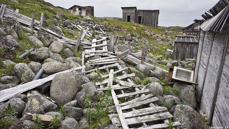Dalniye Zelentsy: Half-forgotten rural locality on the Kola Peninsula - 31