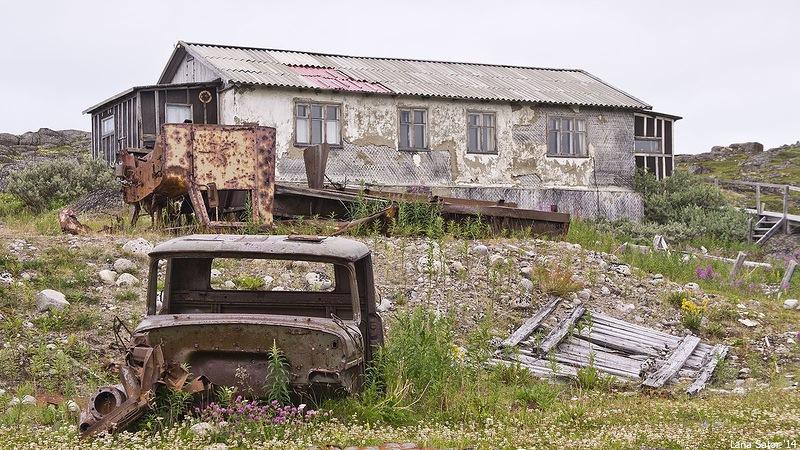 Dalniye Zelentsy: Half-forgotten rural locality on the Kola Peninsula - 07