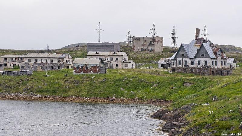 Dalniye Zelentsy: Half-forgotten rural locality on the Kola Peninsula - 08