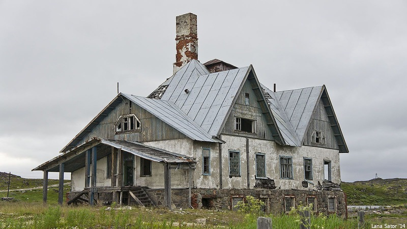 Dalniye Zelentsy: Half-forgotten rural locality on the Kola Peninsula - 09
