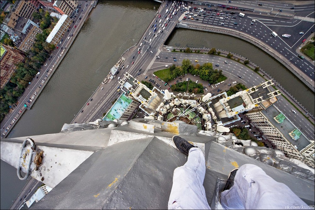 Extreme height: Crazy cityscapes by a thrill-seeker Ivan Kuznetsov - 01