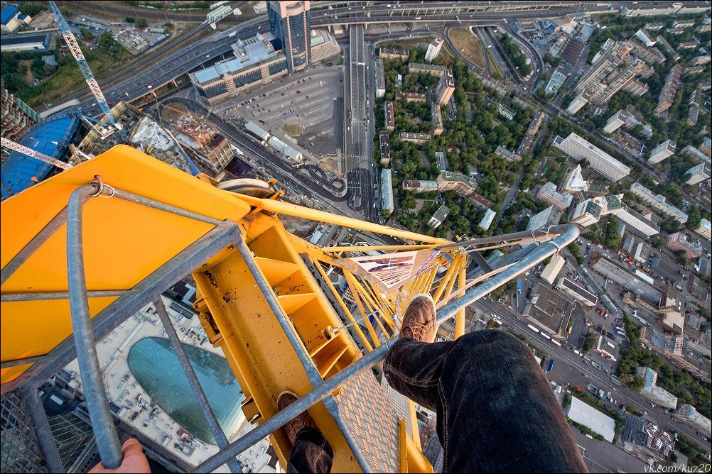 Extreme height: Crazy cityscapes by a thrill-seeker Ivan Kuznetsov - 03