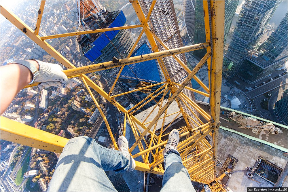 Extreme height: Crazy cityscapes by a thrill-seeker Ivan Kuznetsov - 50