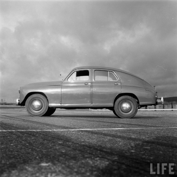 Legendary Soviet car GAZ-M20 Pobeda in the United States - 06