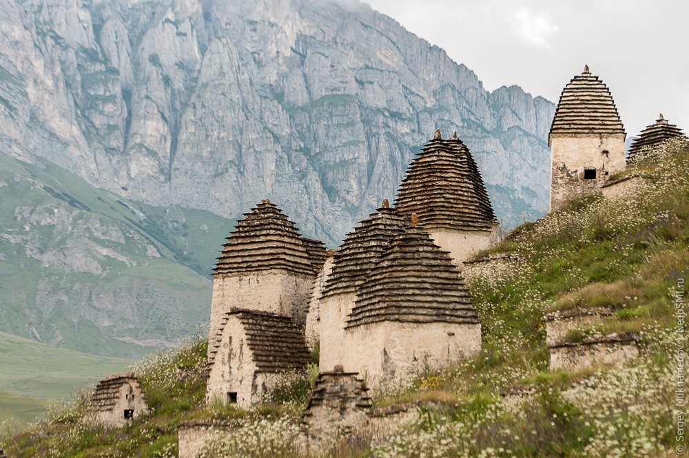 Necropolis Dargavs: The city of 10 000 dead in North Ossetia - 03