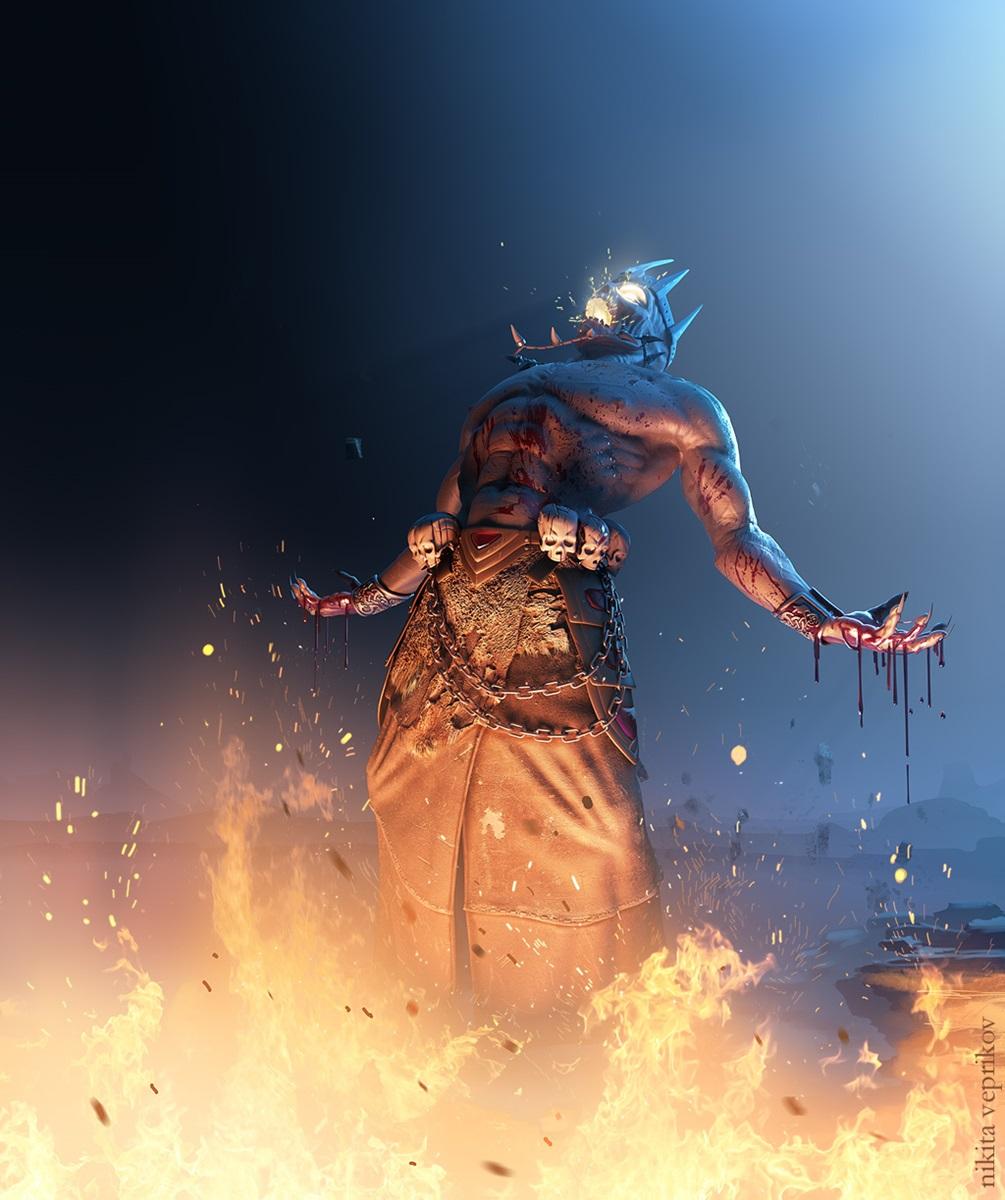 Devil in iron