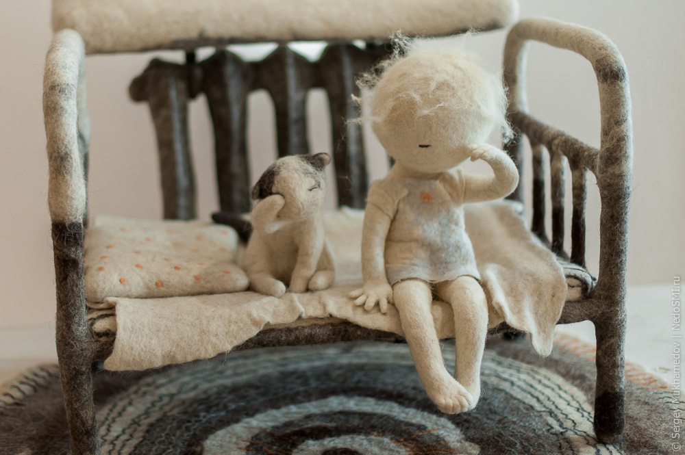 Soulful art: Magnificent hand-made felt dolls by Irina Andreyeva - 19