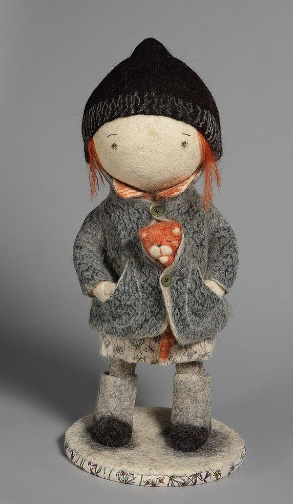 Soulful art: Magnificent hand-made felt dolls by Irina Andreyeva - 26