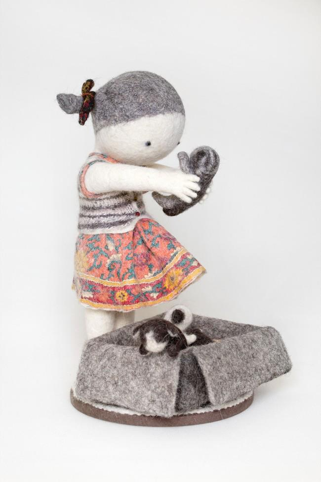 Soulful art: Magnificent hand-made felt dolls by Irina Andreyeva - 30