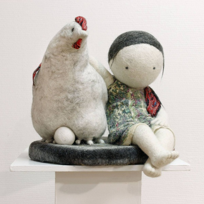 Soulful art: Magnificent hand-made felt dolls by Irina Andreyeva - 33