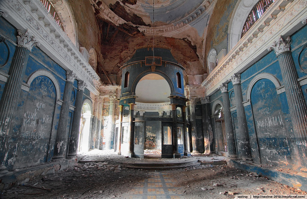 Unhappy temple: Ruins of Our Lady of Kazan Orthodox Cathedral - 13
