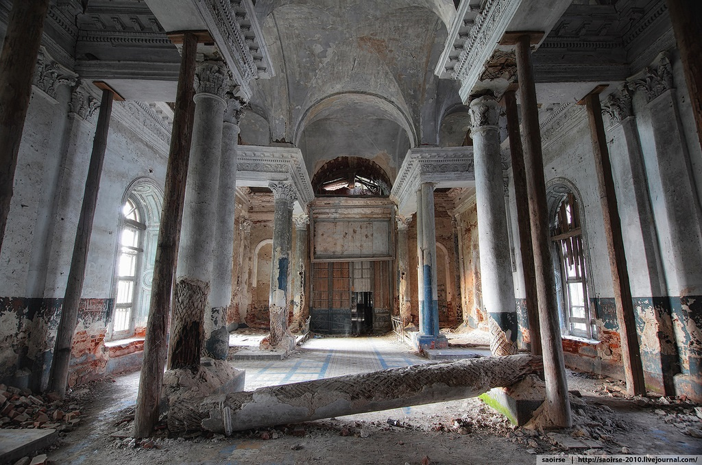 Unhappy temple: Ruins of Our Lady of Kazan Orthodox Cathedral - 18