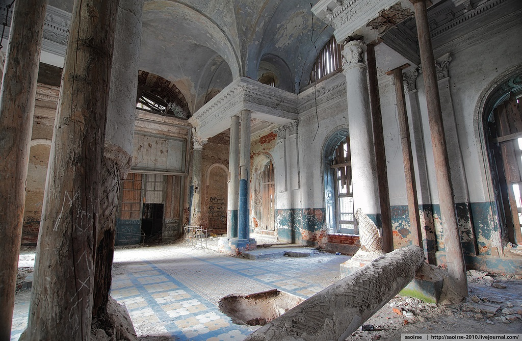 Unhappy temple: Ruins of Our Lady of Kazan Orthodox Cathedral - 19