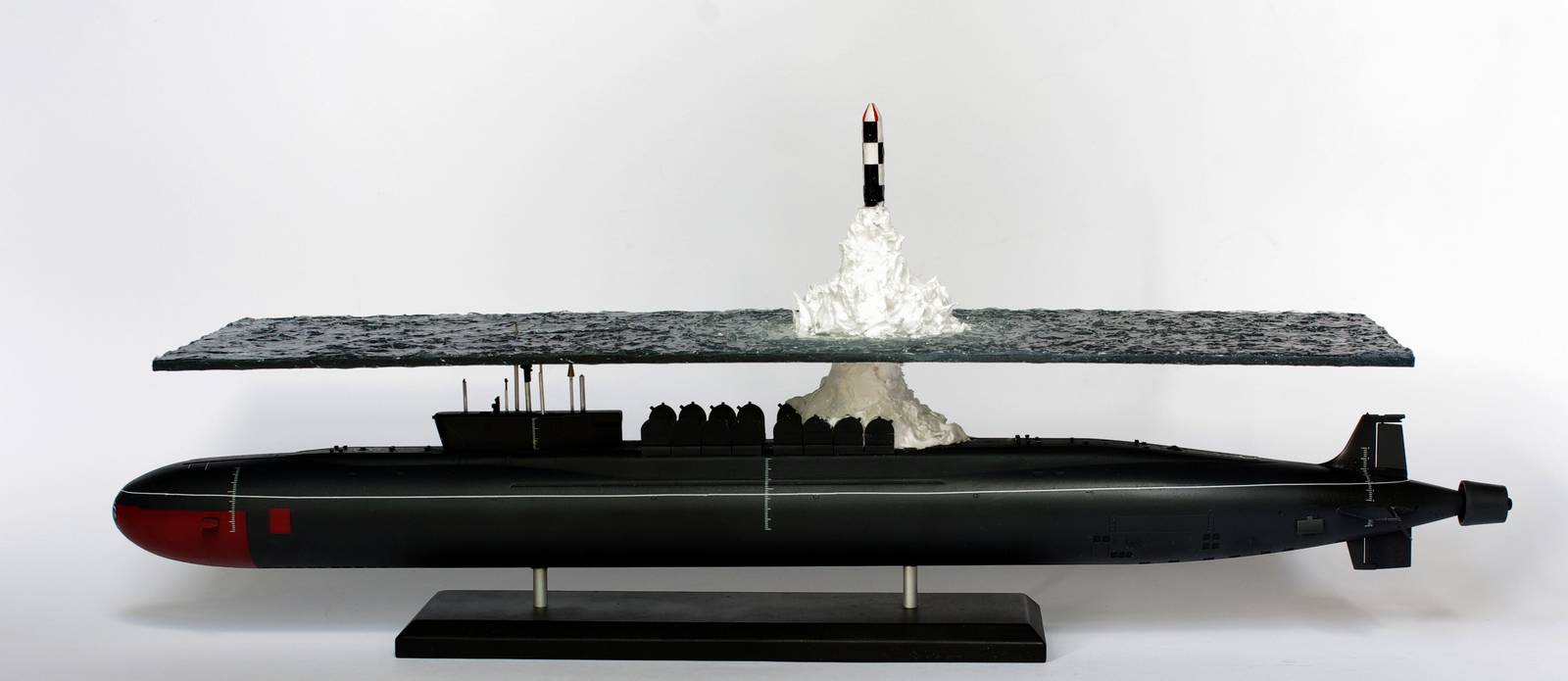 Great scale model of Russian submarine Yury Dolgorukiy (K-535) - 23