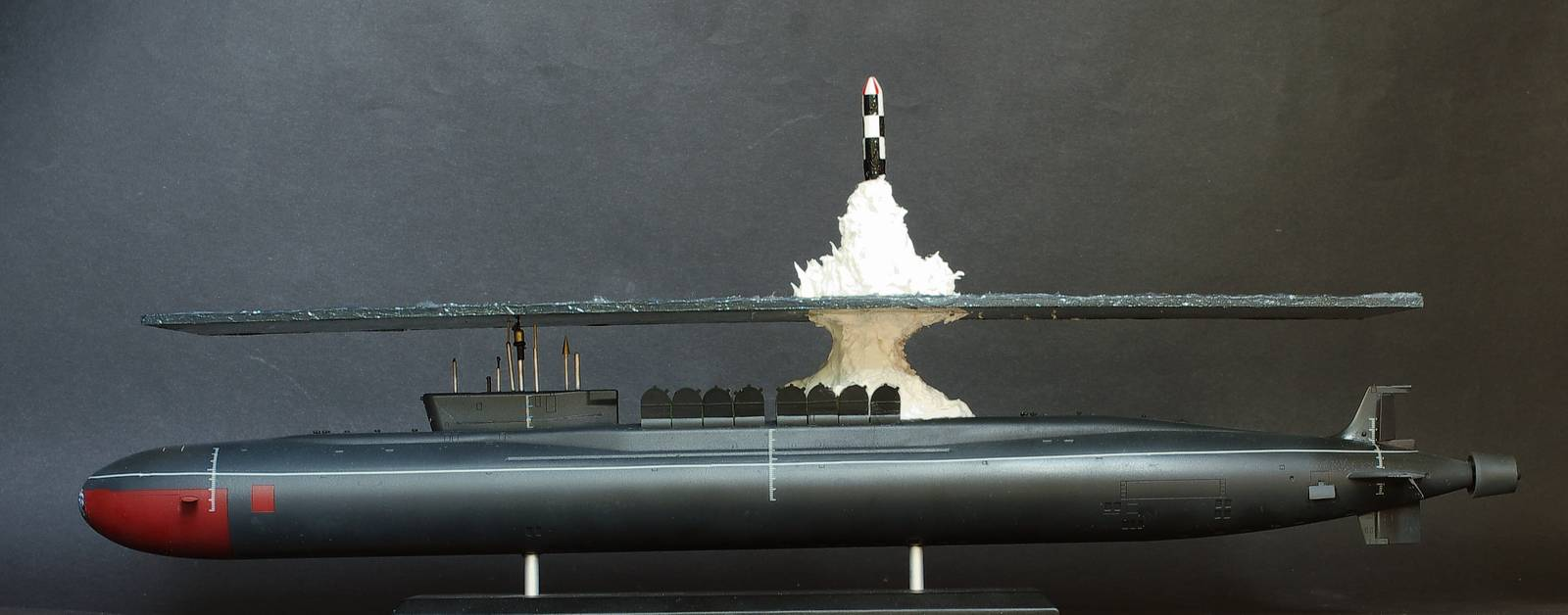 Great scale model of Russian submarine Yury Dolgorukiy (K-535) - 24