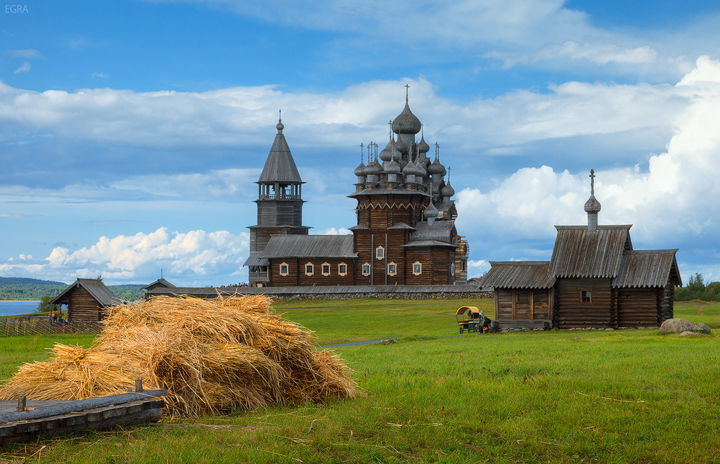 Island Kizhi: A place of unique churches in the Republic of Karelia - 03