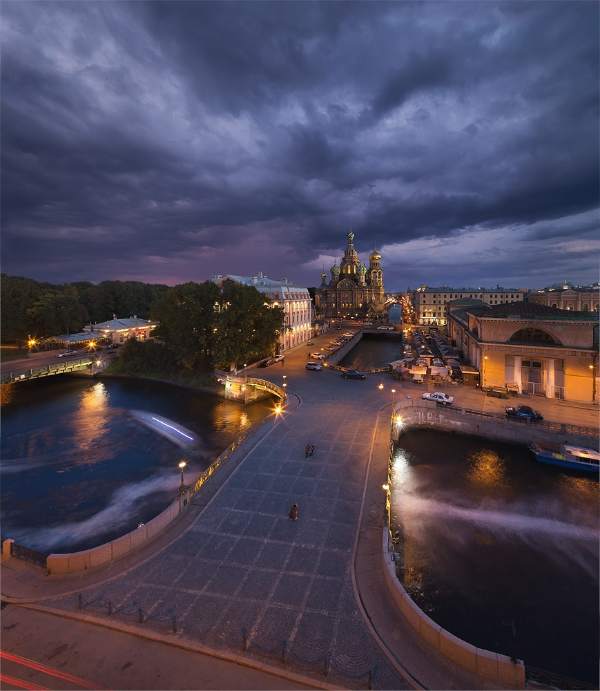Night Saint Petersburg: Amazing photos of the city by Sergey Louks - 35