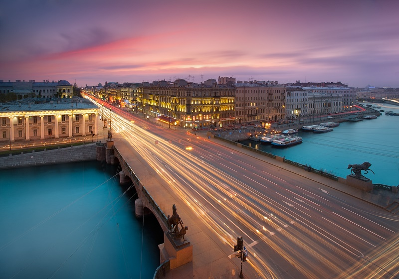 Night Saint Petersburg: Amazing photos of the city by Sergey Louks - 05