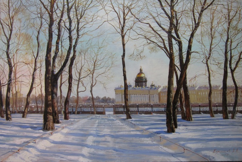 Pictures of glorious Saint-Petersburg by an artist Vladimir Kulikov - 25