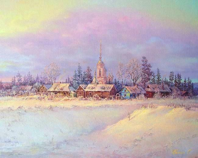 Russian expanses: Beauteous painting by the artist Sergey Panin - 12