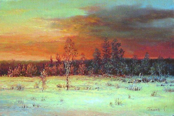 Russian expanses: Beauteous painting by the artist Sergey Panin - 17