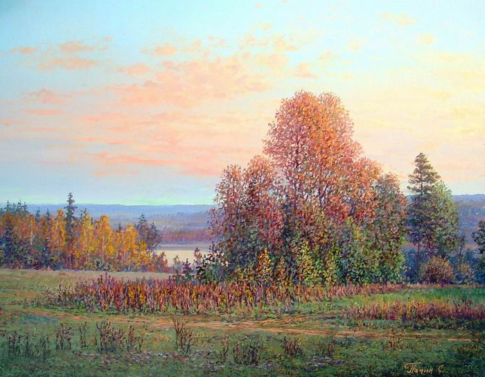 Russian expanses: Beauteous painting by the artist Sergey Panin - 18