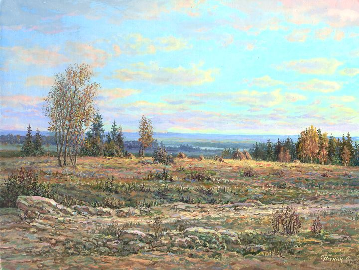 Russian expanses: Beauteous painting by the artist Sergey Panin - 20
