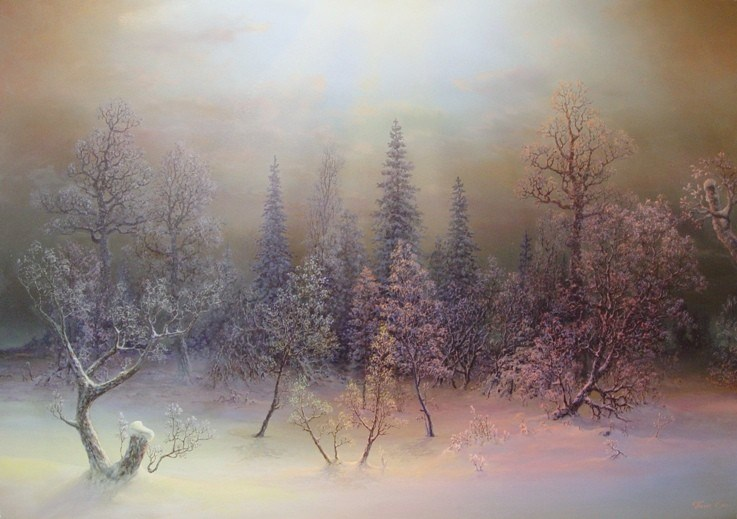 Russian expanses: Beauteous painting by the artist Sergey Panin - 28
