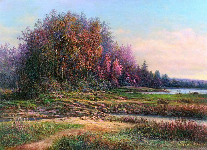 Russian expanses: Beauteous painting by the artist Sergey Panin - 35