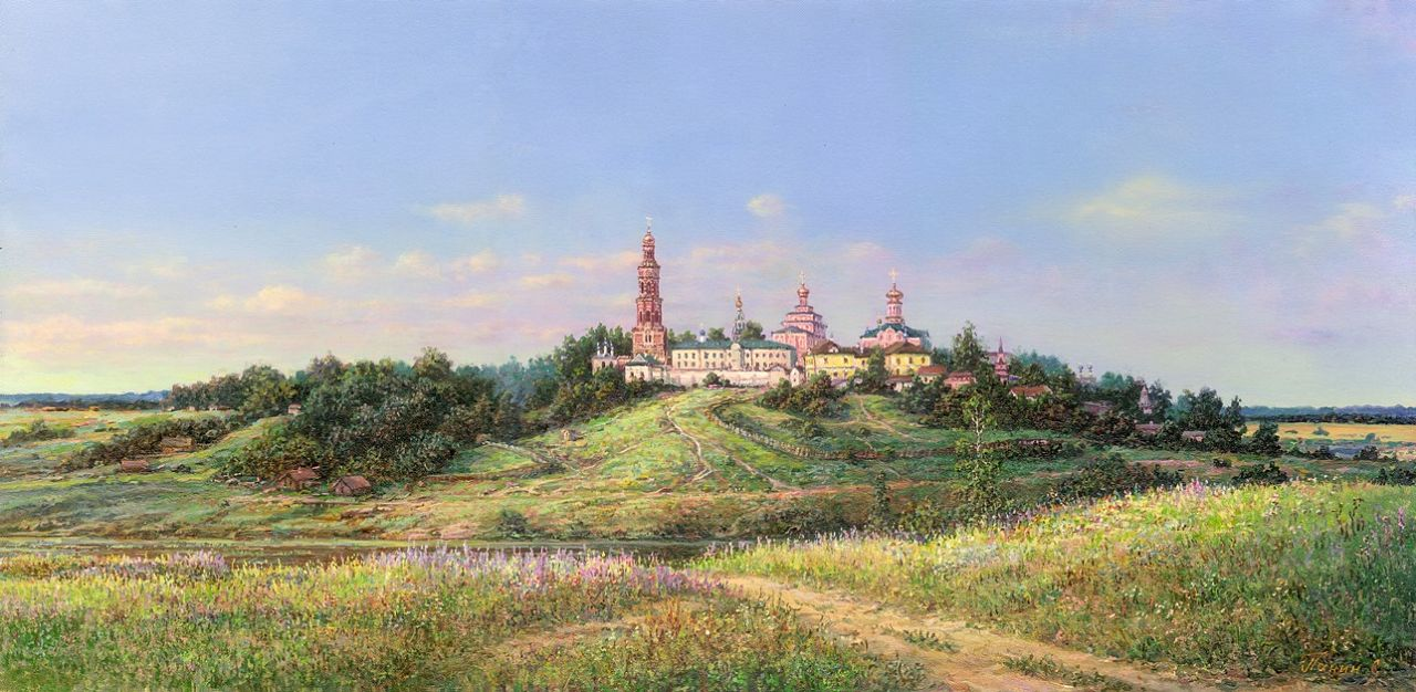 Russian expanses: Beauteous painting by the artist Sergey Panin - 38