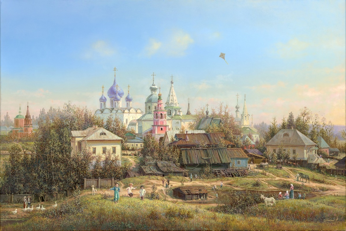 Russian expanses: Beauteous painting by the artist Sergey Panin - 39