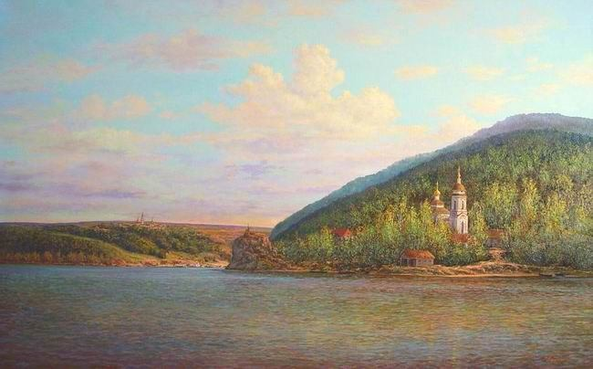 Russian expanses: Beauteous painting by the artist Sergey Panin - 09