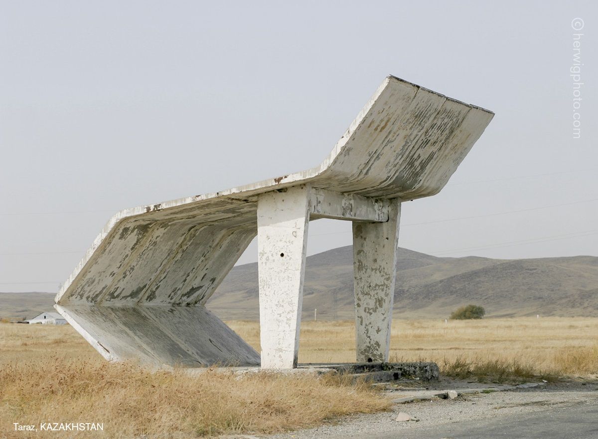 The USSR legacy: Photos of Soviet bus stops by Christopher Herwig - 12