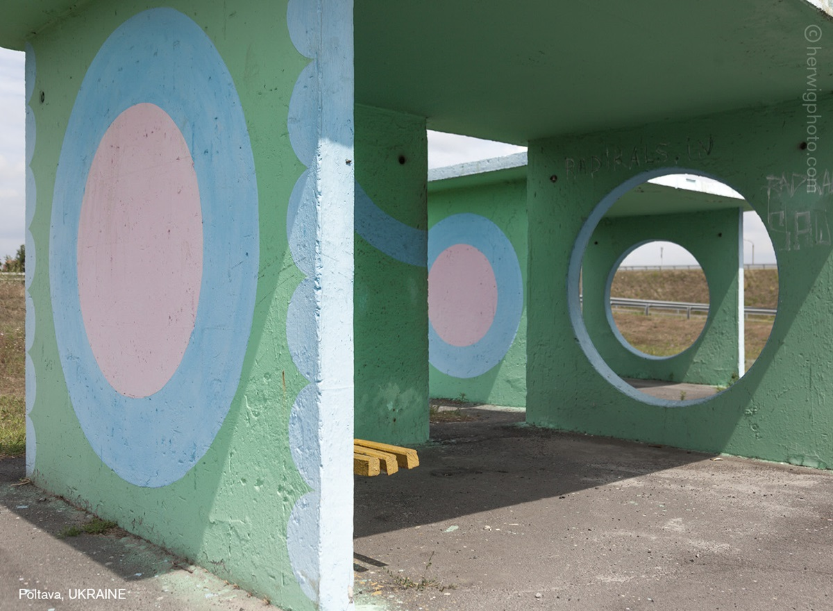 The USSR legacy: Photos of Soviet bus stops by Christopher Herwig - 16